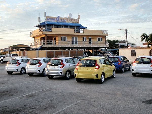 More  Less Rental Cars Aruba